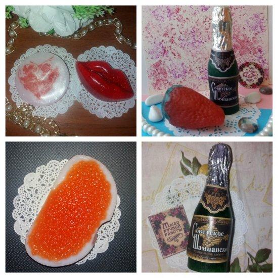 Квіти, шоколад, шампанське … з мила створює кіцманчанка Людмила Мамаєвська