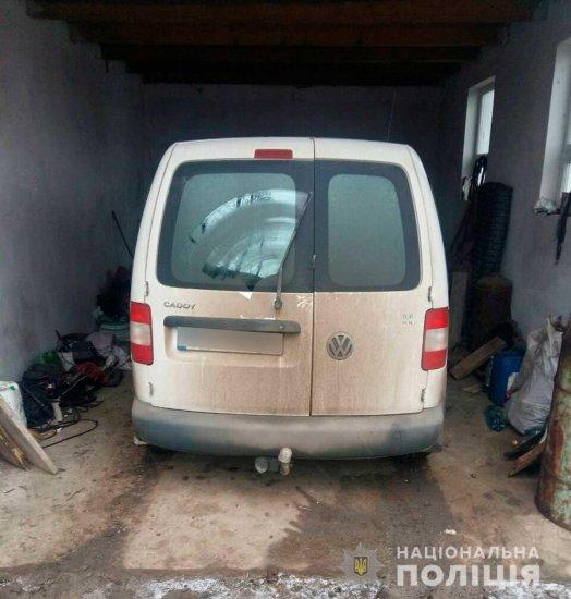 Поліцейські Кіцманщини впродовж години знайшли викрадений автомобіль