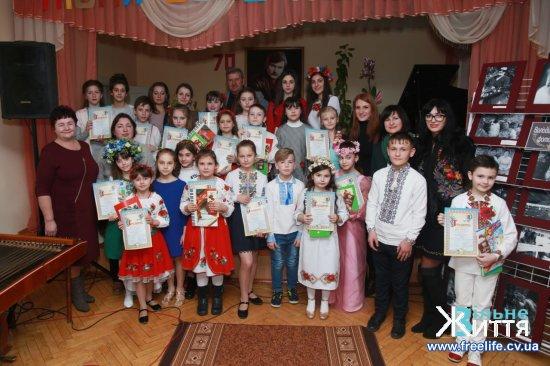 У Кіцманській музичній школі відбувся фестиваль пісень Володимира Івасюка