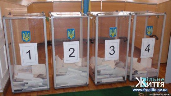 Кіцманський район: номера і межі виборчих дільниць на президентських виборах 31 березня