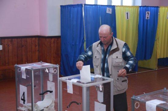 Перебіг виборів у Кіцманському районі