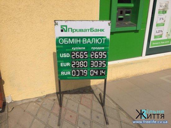 Курт валют: скільки коштують долари і євро в Кіцмані
