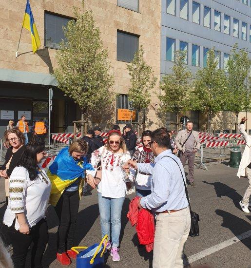 Як голосували українці в Італії розповідає наша землячка