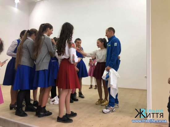 Іван Гешко провів у Драчинецькій школі спортивну зустріч — «Олімпійський час»