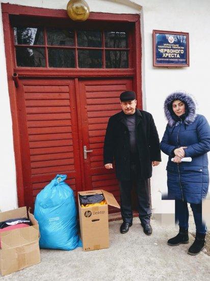 Добрі справи Кіцманської організації Червоного хреста України