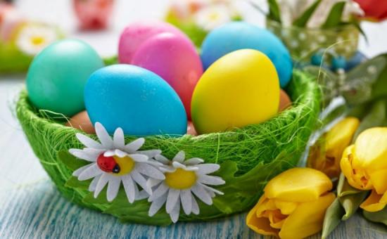 Натуральні барвники для Великодніх яєць