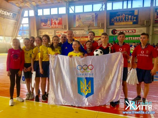 «Олімпійське лелеченя»: команда Шипинської школи посіла третє місце в області