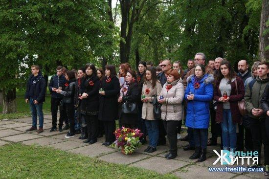У Кіцмані відзначили День пам'яты і примирення і 74-ту річницю Перемоги