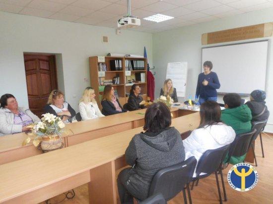 На Кіцманщині відбувся семінар для жінок «Подаруй дитині сім'ю»