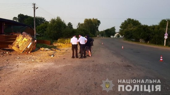 Поліція з'ясовує обставини смертельної ДТП на Кіцманщині