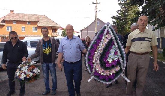 10 липня в останню дорогу провели АТО-вця з Шипинців Федину Михайла