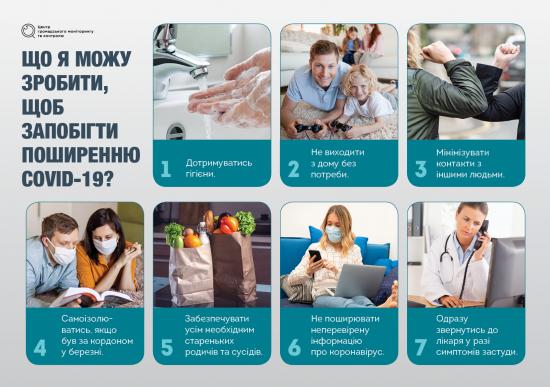 Герой вдома. Як кожен українець може допомогти у боротьбі з коронавірусом?